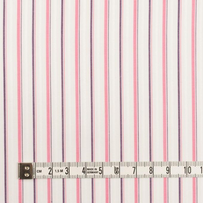 コットン×ストライプ(ピンク)×ブロードジャガード_全2色 イメージ4