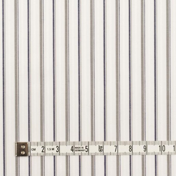 コットン×ストライプ(グレー)×ブロードジャガード_全2色 イメージ4