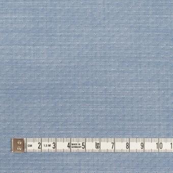 コットン×小紋(アッシュブルー)×シャンブレー・ドビー サムネイル4