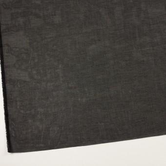 コットン×無地(ブラック)×オーガンジー サムネイル2