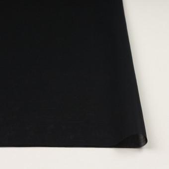 コットン×無地(ブラック)×オーガンジー サムネイル3