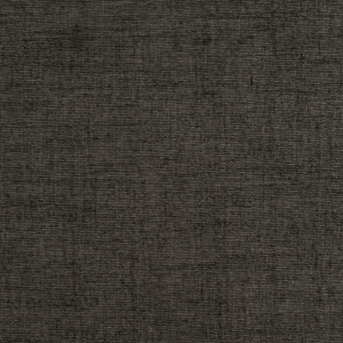 コットン×無地(ブラック)×オーガンジー イメージ1