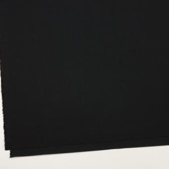 コットン×無地(ブラック)×タイプライター(高密ローン)・ワッシャー サムネイル2