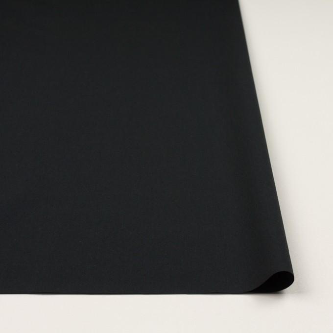 コットン×無地(ブラック)×タイプライター(高密ローン)・ワッシャー イメージ3
