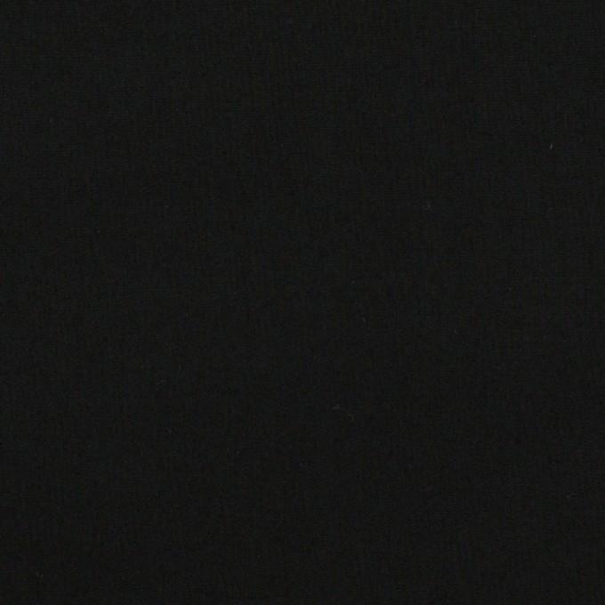 コットン×無地(ブラック)×タイプライター(高密ローン)・ワッシャー イメージ1