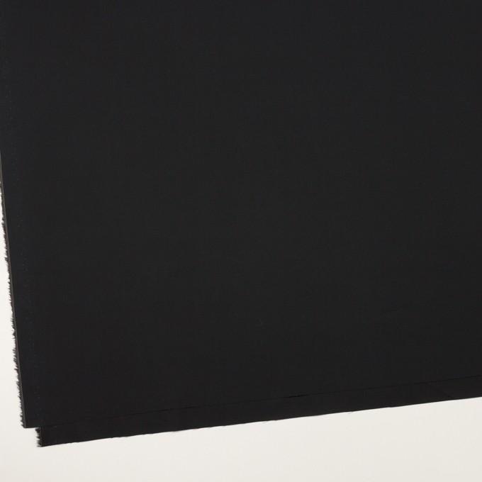 コットン×無地(ブラック)×ブロード_イタリア製 イメージ2