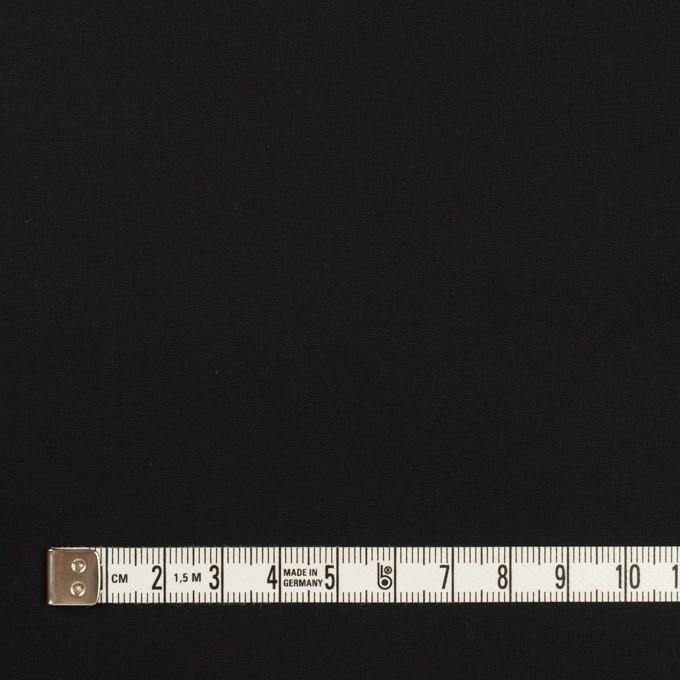 コットン×無地(ブラック)×ブロード_イタリア製 イメージ4