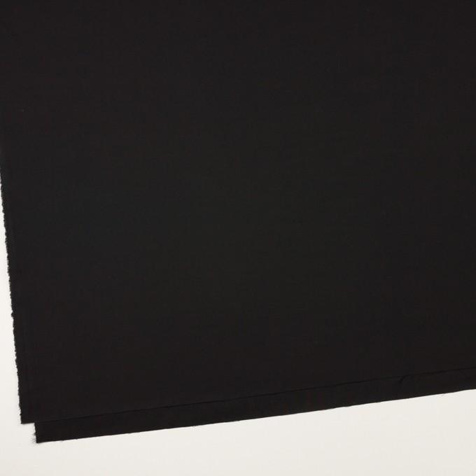 コットン×無地(ブラック)×二重織 イメージ2