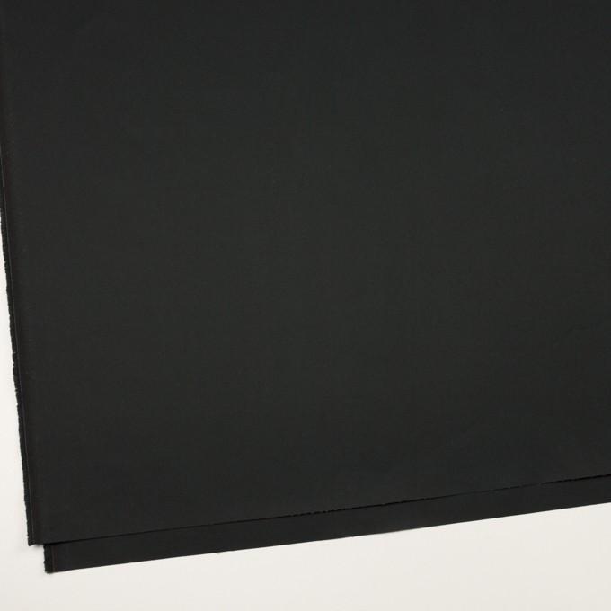 コットン×無地(チャコールブラック)×ギャバジン イメージ2