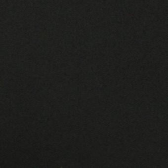 コットン×無地(チャコールブラック)×ギャバジン