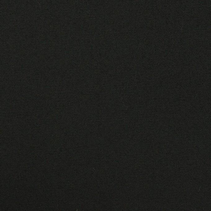 コットン×無地(チャコールブラック)×ギャバジン イメージ1