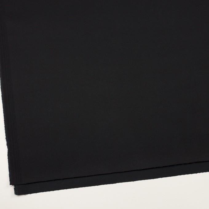 コットン&ポリウレタン×無地(ブルーブラック)×チノクロス・ストレッチ イメージ2