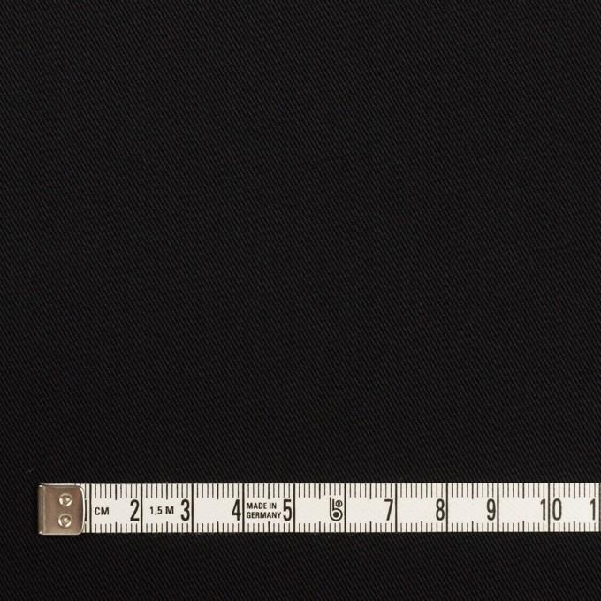 コットン&ポリウレタン×無地(ブルーブラック)×チノクロス・ストレッチ イメージ4