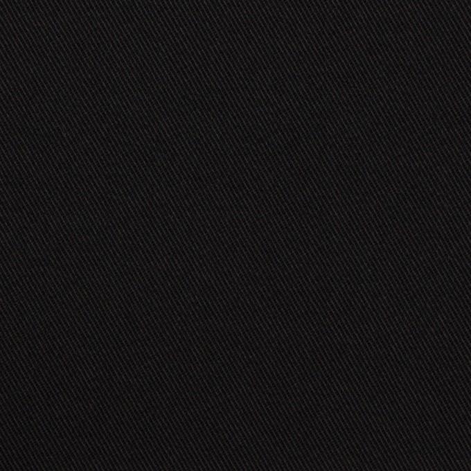 コットン&ポリウレタン×無地(ブルーブラック)×チノクロス・ストレッチ イメージ1