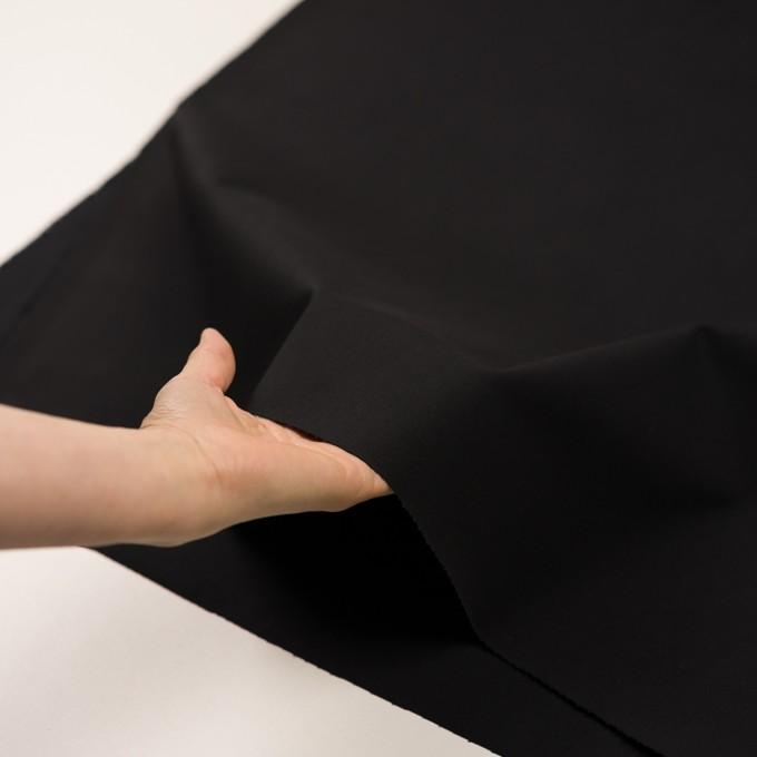 コットン&ポリウレタン×無地(ブラック)×チノクロス・ストレッチ イメージ5