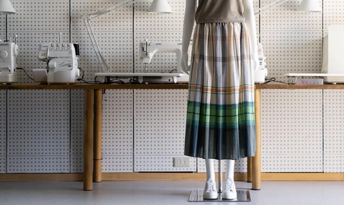 FAB #236 ローンのギャザースカート