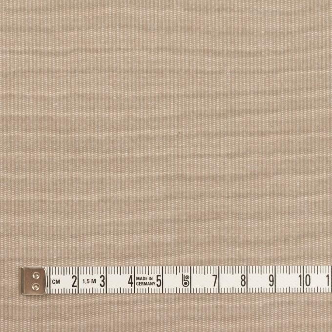 コットン×無地(カフェオレ)×コード織_全2色 イメージ4