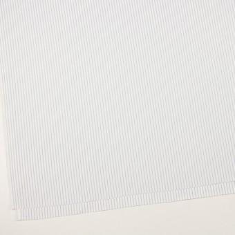 コットン×ストライプ(シルバーグレー)×斜子織_全2色 サムネイル2