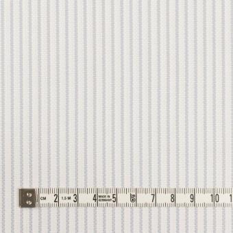 コットン×ストライプ(シルバーグレー)×斜子織_全2色 サムネイル4