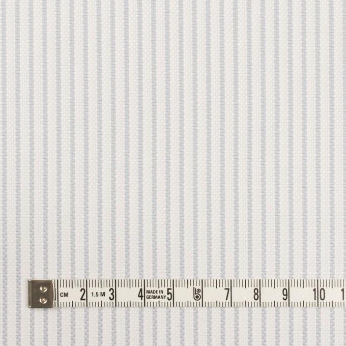 コットン×ストライプ(シルバーグレー)×斜子織_全2色 イメージ4