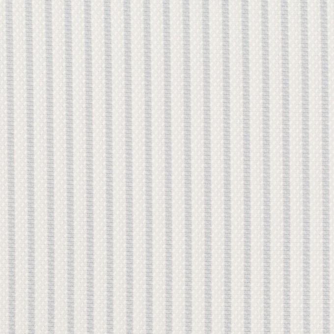 コットン×ストライプ(シルバーグレー)×斜子織_全2色 イメージ1