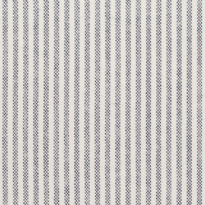 コットン×ストライプ(ネイビー)×オックスフォード イメージ1
