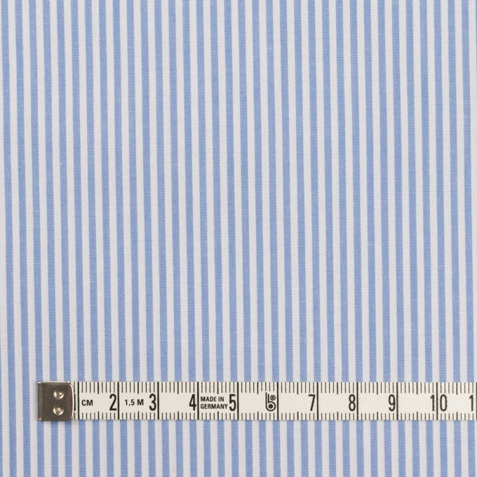 コットン×ストライプ(サックス)×ブロード イメージ4
