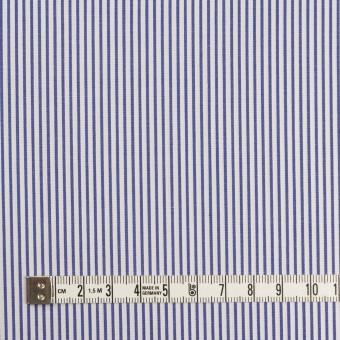 コットン×ストライプ(ネイビー)×ブロード サムネイル4