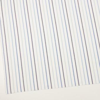 コットン×ストライプ(ブルー&ネイビー)×オックスフォード サムネイル2