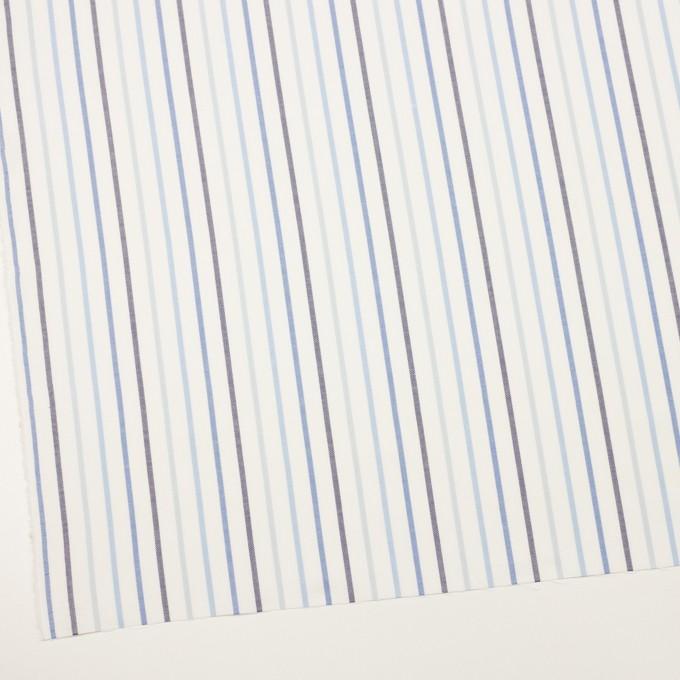 コットン×ストライプ(ブルー&ネイビー)×オックスフォード イメージ2