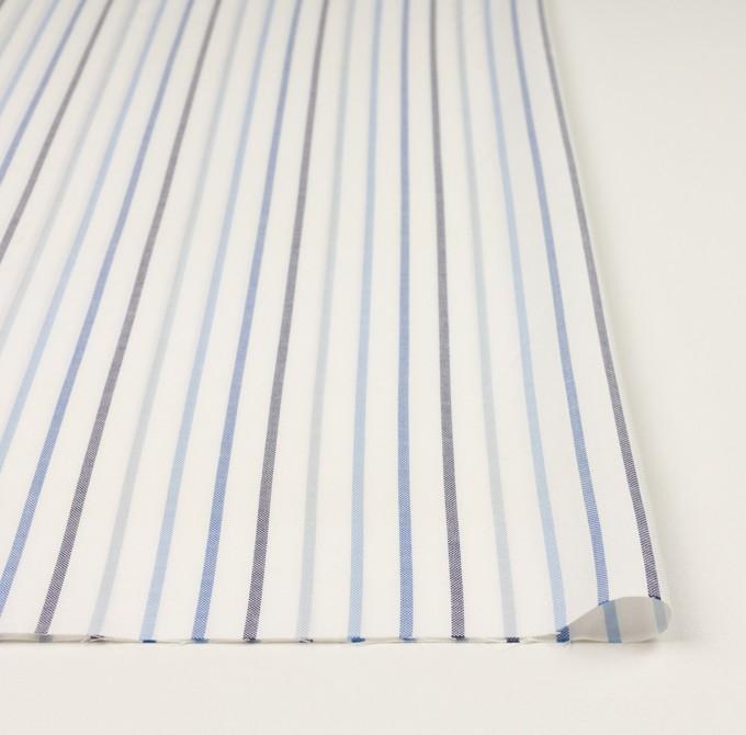 コットン×ストライプ(ブルー&ネイビー)×オックスフォード イメージ3