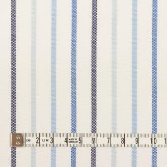コットン×ストライプ(ブルー&ネイビー)×オックスフォード サムネイル4
