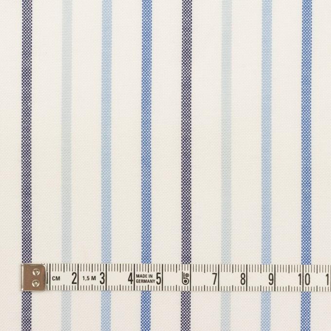 コットン×ストライプ(ブルー&ネイビー)×オックスフォード イメージ4