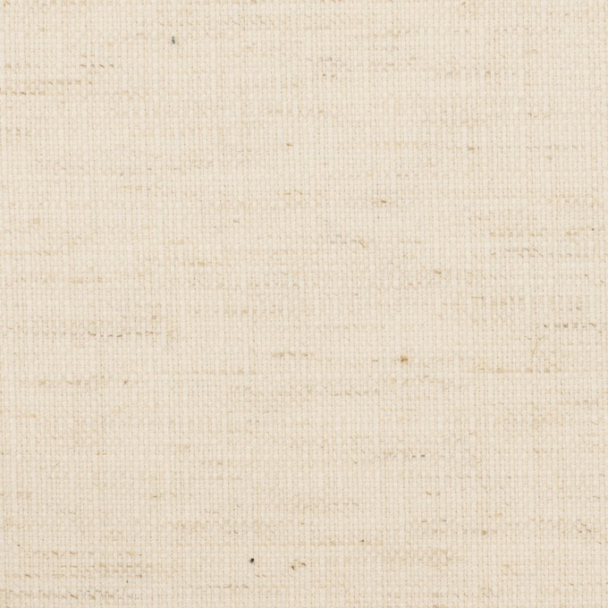 コットン&ポリエステル×無地(エクリュ)×斜子織 イメージ1