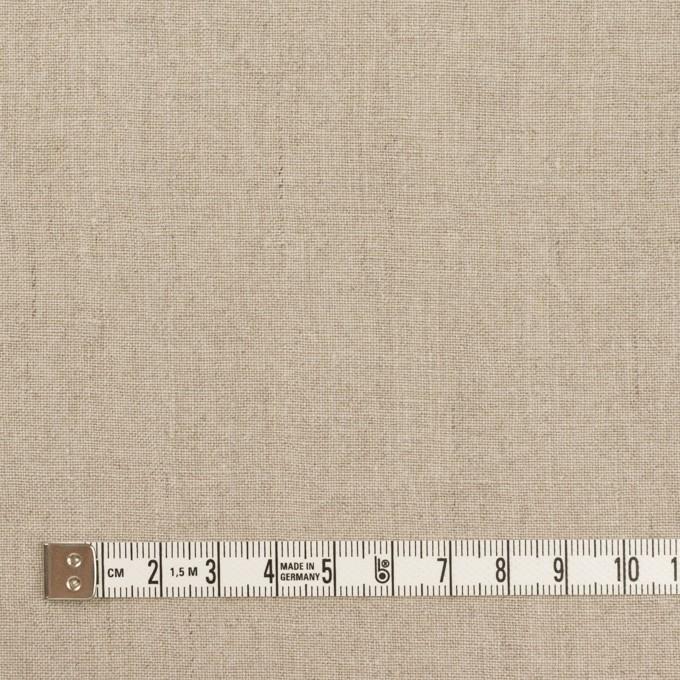 リネン×無地(グレイッシュベージュ)×薄キャンバス・ワッシャー イメージ4