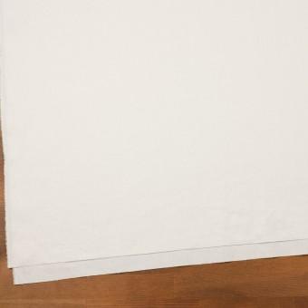 リネン&ポリエステル×無地(オフホワイト)×サージストレッチ_全7色 サムネイル2