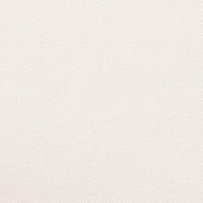 リネン&ポリエステル×無地(オフホワイト)×サージストレッチ_全7色 イメージ1