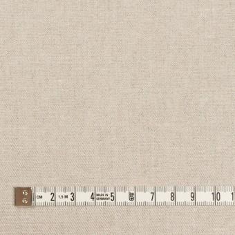 リネン&ポリエステル×無地(グレイッシュベージュ)×サージストレッチ_全7色 サムネイル4