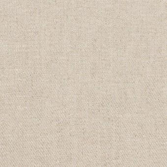リネン&ポリエステル×無地(グレイッシュベージュ)×サージストレッチ_全7色 サムネイル1