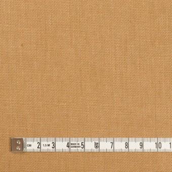 リネン&ポリエステル×無地(キャメル)×サージストレッチ_全7色 サムネイル4