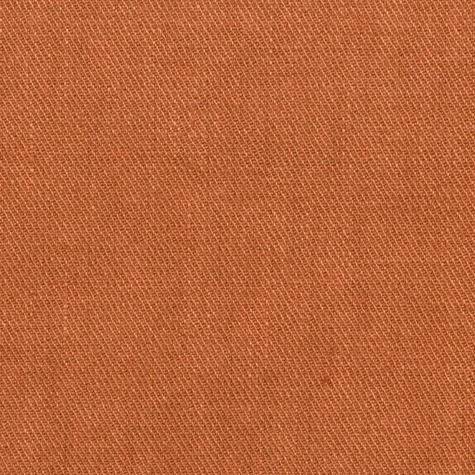 リネン&ポリエステル×無地(レンガ)×サージストレッチ_全7色 イメージ1