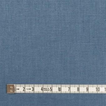 リネン&ポリエステル×無地(アッシュブルー)×サージストレッチ_全7色 サムネイル4
