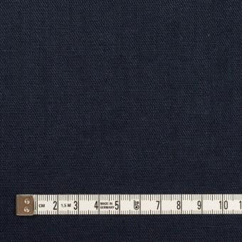 リネン&ポリエステル×無地(ダークネイビー)×サージストレッチ_全7色 サムネイル4