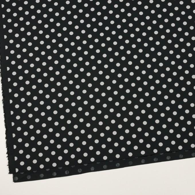 コットン×水玉(ブラック&ライトグレー)×ブロード_全2色 イメージ2