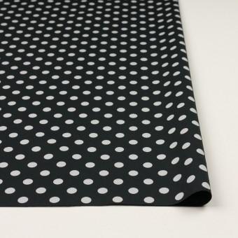 コットン×水玉(ブラック&ライトグレー)×ブロード_全2色 サムネイル3