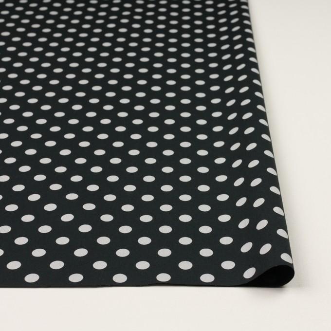 コットン×水玉(ブラック&ライトグレー)×ブロード_全2色 イメージ3