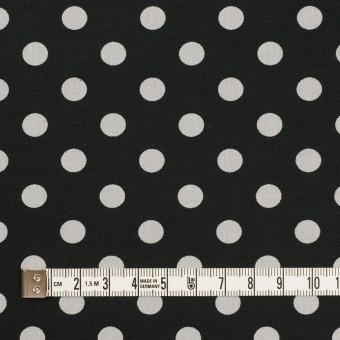 コットン×水玉(ブラック&ライトグレー)×ブロード_全2色 サムネイル4
