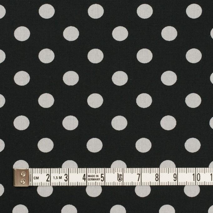 コットン×水玉(ブラック&ライトグレー)×ブロード_全2色 イメージ4