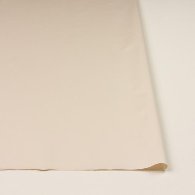 コットン×無地(エクリュ)×サテン_イタリア製 イメージ3