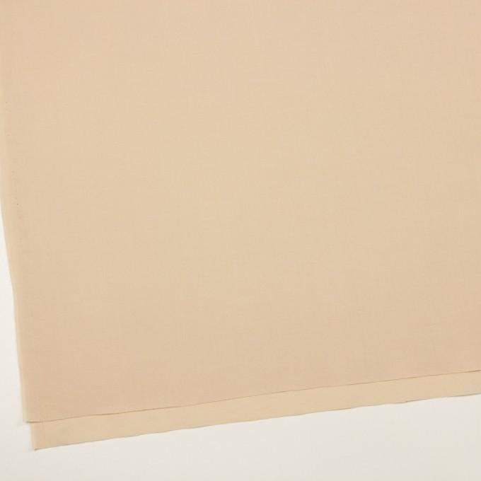 コットン×無地(ライトベージュ)×ボイル イメージ2